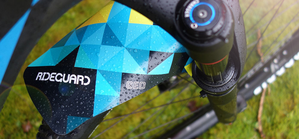OceanX Bicycle Mudguards made from recycled Ocean Plastics now on Kickstarter